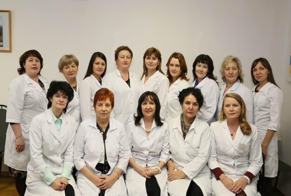коллектив кафедры факультетской терапии